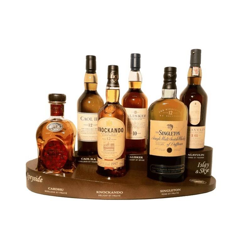 coffret pr sentoir classic malt 6 x 70cl whisky pas cher. Black Bedroom Furniture Sets. Home Design Ideas