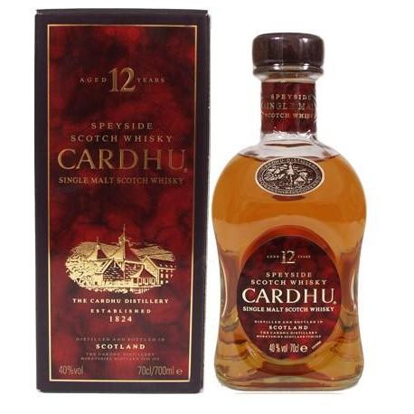 Cardhu 12 ans 40°