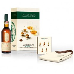 Coffret Lagavulin 16 ans 43° Classic Malt & Food
