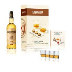 Coffret Knockando 12 ans, 43° Classic Malt & Food