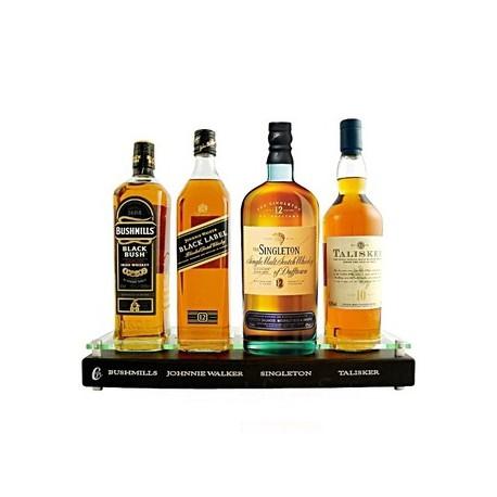 coffret pr sentoir whisky premium 4 x 70cl whisky pas cher. Black Bedroom Furniture Sets. Home Design Ideas