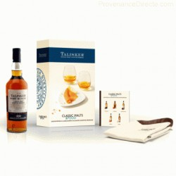 Coffret Talisker  Port Ruighe 45.8° Classic Malt & Food
