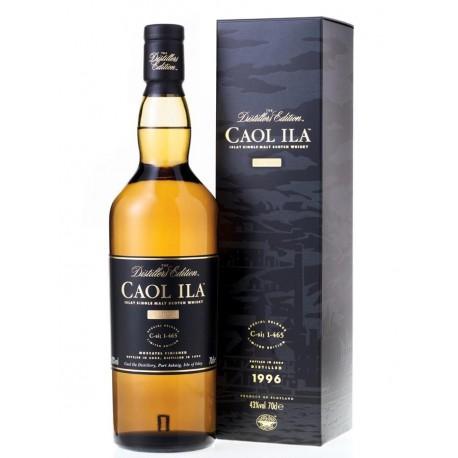 Caol Ila Distillers edition 1996 43°