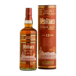 BENRIACH 15 ans Dark Rum Wood Finish 46%