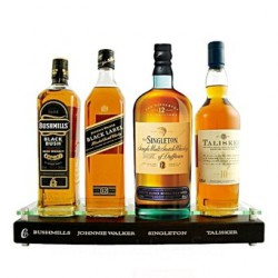 Coffret Présentoir Whisky Premium 4 x 70cl.